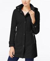Calvin Klein Petite Hooded Softshell Raincoat