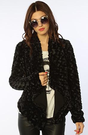 BB Dakota Jack The Iro Faux Fur Jacket in Black