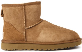 UGG Mini Classic Nut Color Suede Ankle Boot