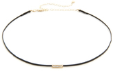 Sydney Evan Mini Bar Bead Choker