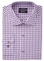 Alfani Men's Big and Tall Performance Oversized Check Dress Shirt, Created for Macy's