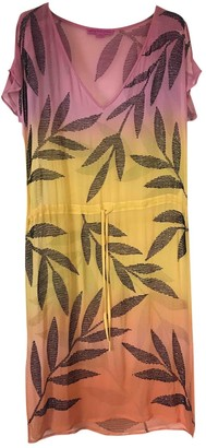 Matthew Williamson \N Orange Silk Dress for Women