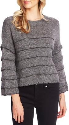 Cece By Cynthia Steffe Tiered Ruffle Sweater
