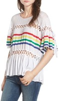Wildfox Couture Women's South Beach Stripe Sweater