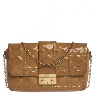 Christian Dior New Lock Beige Patent leather Clutch bags