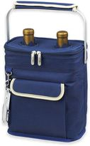 Picnic at Ascot Insulated 2-Bottle Wine Carrier in Blue