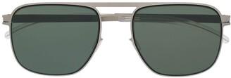 Mykita Square-Frame Tinted Sunglasses