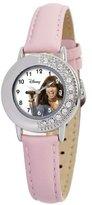 Disney Kids' D655S410 Camp Rock Mitchie Pink Leather Strap Watch