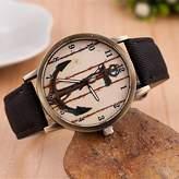 Unknown Women's Watch, Women's Fashion Diamond Lovely Anchor Quartz Analog Denim Belt Bracelet Watch(Assorted Colors) ( Color : )