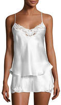 Christine Designs Bijoux Short Silk Pajama Set