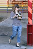 Current/Elliott Current Elliott The Boyfriend Jean in Super Loved Destroyed as Seen On Sophia Bush and Gwyneth Paltrow