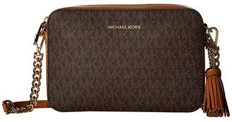 MICHAEL Michael Kors Medium Camera Bag (Brown) Wallet