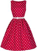 Inshine Women Sleeveless Dot Vintage Cocktail Junior Summer Dresses -M