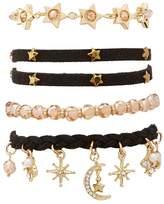 Charlotte Russe Embellished Layering Bracelets - 4 Packs