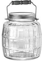 Anchor Hocking 1 Gallon Glass Barrel Jar With Lid