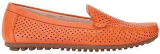 Easy Steps Gabriel Orange Glove Flat Shoes