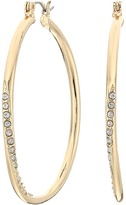 GUESS Hoop With Stones Earring