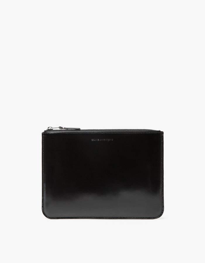 Comme des Garcons Mirror Inside SA5100MI Wallet in Silver