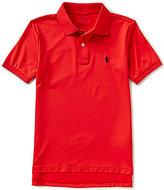 Ralph Lauren Big Boys 8-20 Solid Short-Sleeve Polo Shirt