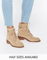 Asos ALIZA Suede Lace up Ankle Boots