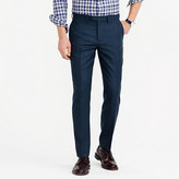 J.Crew Bowery slim pant in green wool