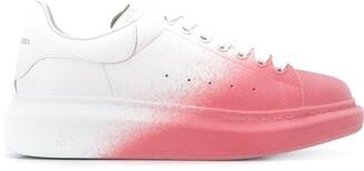 Alexander McQueen Gradient Oversized Low-Top Sneakers