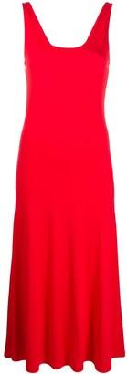 Polo Ralph Lauren Flared Midi Dress