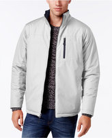 Izod Men's Reversible Ripstop Stand-Collar Coat