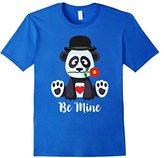 Men's Valentine's Day Penguin T-Shirt - Top Hat Heart Kids & Adult 3XL