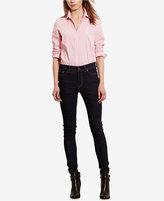Lauren Ralph Lauren Stretch Long-Sleeve Shirt