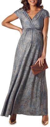 Tiffany Rose Maternity Francesca Short-Sleeve Maxi Dress