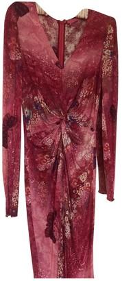 Ungaro Pink Cotton - elasthane Dress for Women