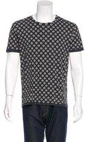 AllSaints Tile-Print Short Sleeve T-Shirt