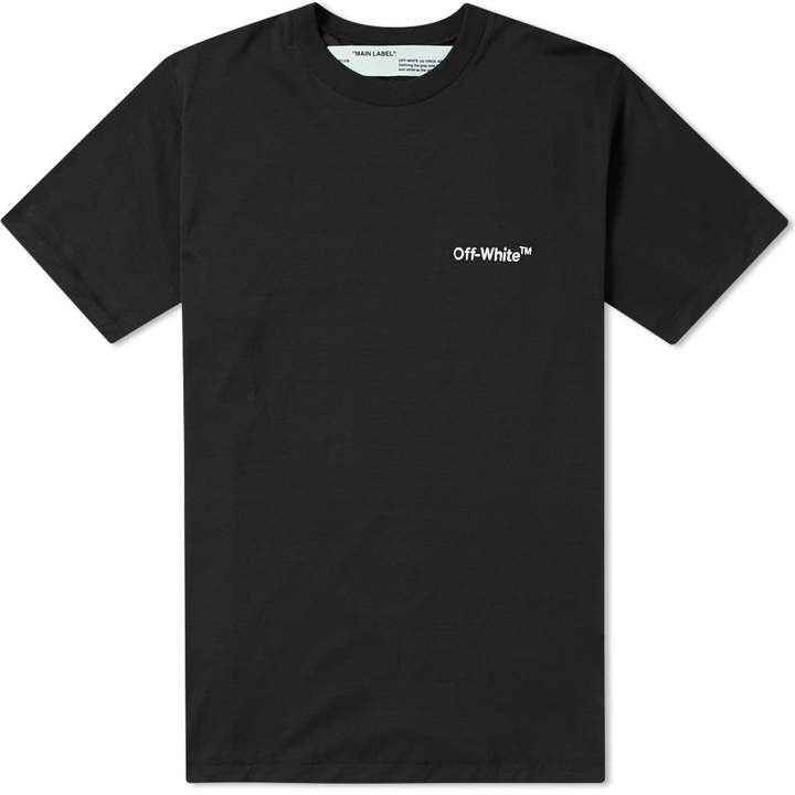 Off-White Off White Off Skinny Tee