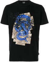 Just Cavalli dragon print T-shirt