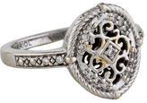 Charriol 18K Diamond Scrollwork Ring