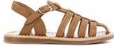 Pom D'Api Papy Cross Stitch Leather Beach Sandals