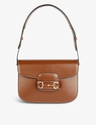 Gucci 1955 Horsebit leather shoulder bag