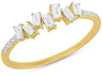 Ron Hami 14K Yellow Gold Diamond Baguette Ring - 0.29 ctw