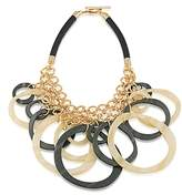 Trina Turk Circles Bib Necklace, 24
