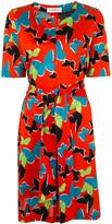 Saint Laurent Pre Owned short sleeve one piece dress