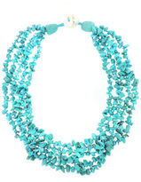 Lord & Taylor Howlite Collar Necklace