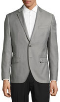 Black Brown 1826 Jack Slim Fit Traveler Wool Suit Jacket