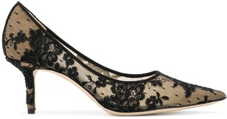 Jimmy Choo Love 65 lace pumps