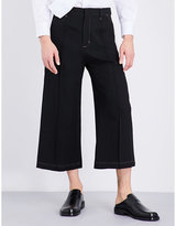 Wales Bonner Reed Cropped Virgin Wool Culottes
