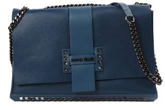 Marc Ellis Uni Blue Leather Shoulder Bag