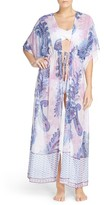 Tommy Bahama Women's Paisley Print Cover-Up Robe