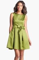 Isaac Mizrahi New York Mikado Fit & Flare Dress