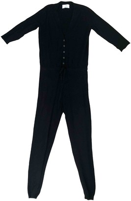 Allude Black Wool Jumpsuit for Women