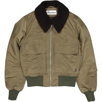 Etudes Studio Khaki Polyester Jackets